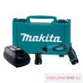 Аккумуляторная отвёртка MAKITA DF010DSE (7.2В,2*1.0Ач,5.6/3.6Нм,0-200/650об/мин,кейс+набор бит)